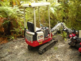 143 Kepler track trail maintenance equipment