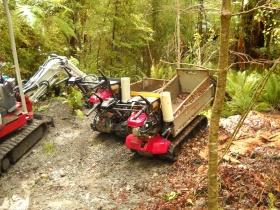 144 Kepler track trail maintenance equipment